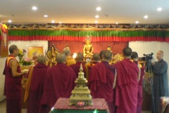 Opening Blessing with Hai Tao