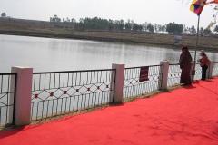 Fish Feeding by HH Dalai Lama